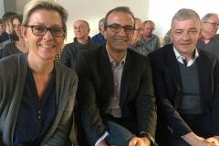 v.l. Karina Tippe, Öczan Pancarci, Stefan Wagener