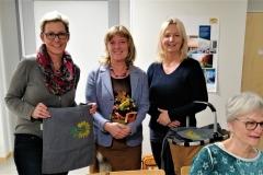 v.l. Karina Tippe, Christine Scheel, Johanna Dorndorf