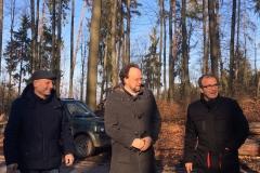 Bei bestem Wetter und Laune: Frank Meidhof, Patrick Friedl und Özcan Pancarci